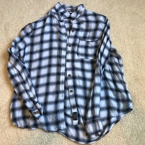 Abercrombie and Fitch woman's flannel